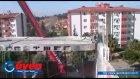 hidrolik beton kesme ve vinç ile kaldırılması