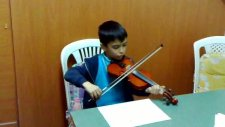 Kuruoğlu Müzik Öğr. Şadan Erendoğan Keman Çalıyor