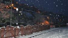 Çiftehan Kasabası Kar Görüntüleri