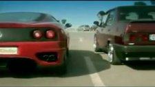 Şahin vs Ferrari - Araba Yarışları
