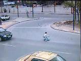 saniye saniye kaza görüntüsü