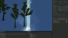 Waterfall And Tree Unity 3d Simple Project