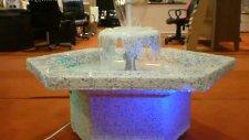 cascade altıgen süs havuzu
