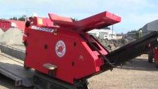 red rhino mini konkasör asfalt kırımı geridönüşümü