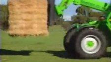 merlo multifarmer traktör ve teleskobik yükleyici