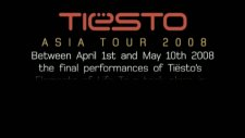 Tiesto - Asia Tour Dvd Trailer Inthebooth Preview