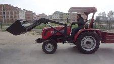 foton 254 traktör kepçe tertibatlı