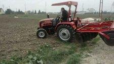 foton 254 traktör 24 lü kayarlı dıskara ile demastrasyon çalışması