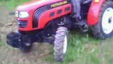 foton 254 traktörün 2 metrelik 42 lik çapa ile tarla çalışması