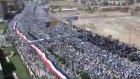 yemen'de kilometrelerce uzunluğunda dev protesto !