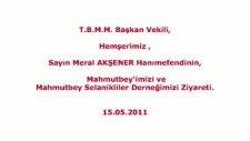 T.b.m.m.başkan Vekili Hemşerimiz Sn.meral Akşener'in Mahmutbey'i Ziyareti.