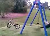 bisiklete bir de böyle binelim