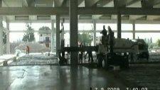 lazerli beton serici!!! saha beton uygulamalarışap beton uygulamalarıbeton