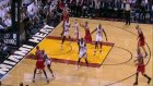 luol deng off the give-and-go