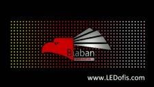 pixel led tabela uygulaması - biaban