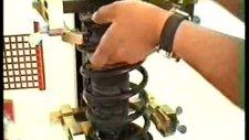manuel mekanik helezon amortisör çektirmesi