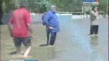 Adıgey Cumhuriyeti'nde Sel Felaketi