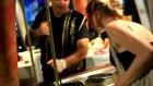 maraş dondurmacısı ve turist kızlar