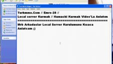 hamachili local server kurmak