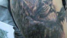 aslan dövme yapımı video izlesene