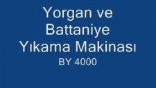 Yorgan Ve Battaniye Yıkama Makinası