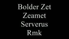 Bolder Zet&zeamet&serverus&rmk Şekil Bol