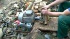 ilginç odun  kırma makinası