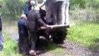 traktörle kızılırmaktan geçiş
