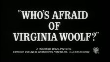 who's afraid of virginia woolf? fragmanı 1