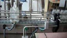 sıvı dolum ve etiketleme makinası