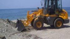 azim tersanesi ygs cs915 lastikli yükleyici mini loder traktör kepçe