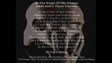 2pac İn The Event Of My Demise With Lyrics