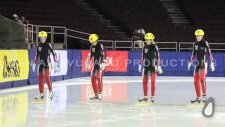 Canada's National Speed Skating Team - Olympic Tryouts 2009