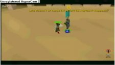 runescape - fighting a wolpertinger and a 130 hit