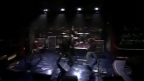 my chemical romance-ım not okay live on letterman