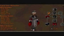 runescape 99 str maxing turmoil overload potions! ags dclaws dds!