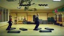 Step Kurs Aerobic Choreographie