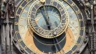 prague astronomical clock prague orloj praşsk orloj - 12 pm hdd