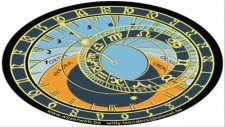 The Prague Astronomical Clock Of The Year 1410