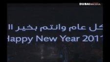 Dubai / Burj Khalifa New Years Eve 2011 Fireworks / Show - Part 2 Of 2 [hd]