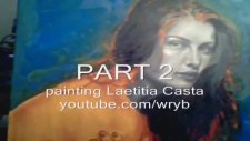 Laetitia Casta - Oil Painting - Part 2 Facebook Bernardo Da Vinci