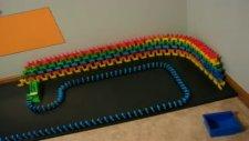My Longest Domino Wall So Far