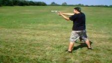 shooting a .357 magnum revolver