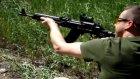 Target Shooting With A Saiga 7.62x39 Rifle Ak-47