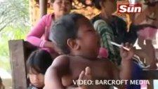 2 yaşındaki çocuk sigara tiryakisi