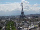 Paris Champselysee Fransa Eyfel Mükemmel Manzarala