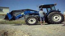 erkunt traktör kepçe portatif ön yükleyici