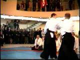 Martial Arts - Aikido Vs Karate (Cool!)