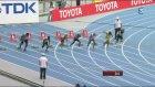 100m Yarışında 40 Metre Fark Yemek
