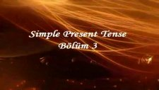 ingilizce dersi - simple present tense bölüm 3-a